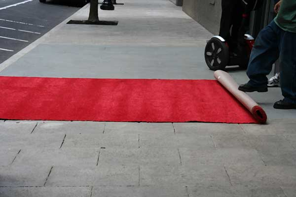 Red Carpet Service At Exeter Barber Shop